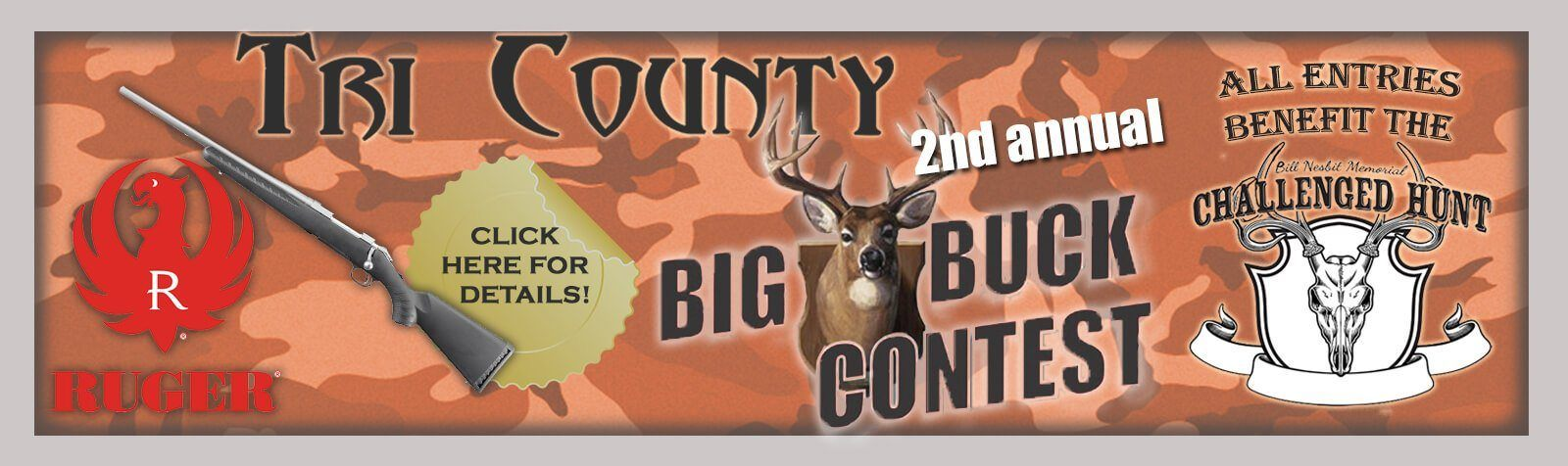 Big Buck Contest Banner